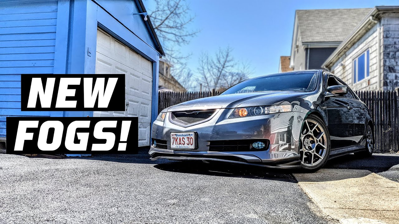 stage 3 exhaust mod on the acura tl