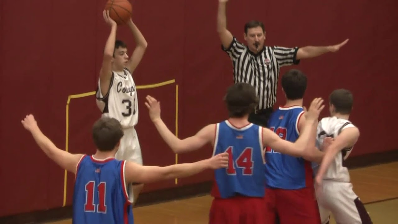 NCCS - AuSable Valley JV Boys  2-3-12