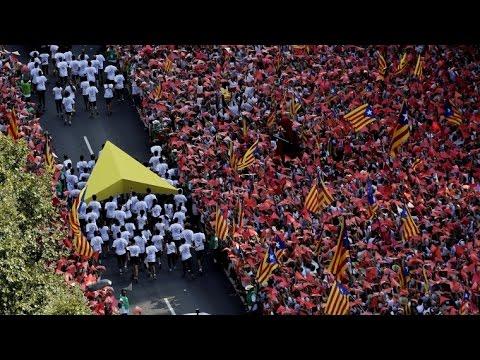 Diada 2015: Barcelona viu una celebració multitudinària