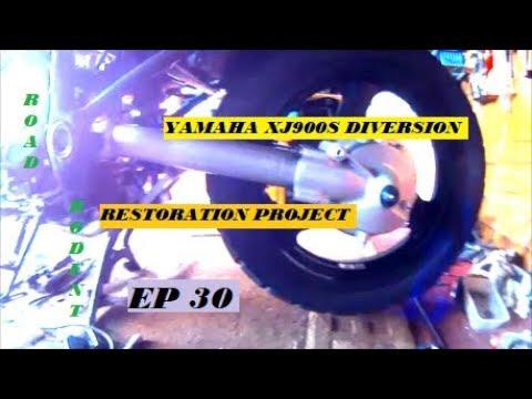 Xj900s diversion BACKEND REBUILD