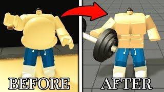 LOSING 1000 POUNDS IN ROBLOX EATING SIMULATOR