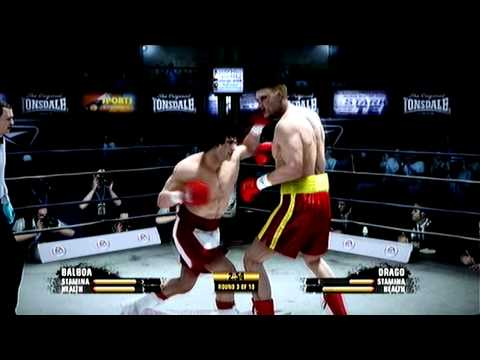 Fight Night Champion Rocky Balboa vs Ivan Drago