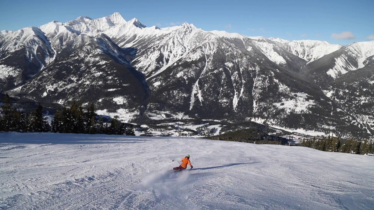 ski at panorama mountain resort in bc - youtube