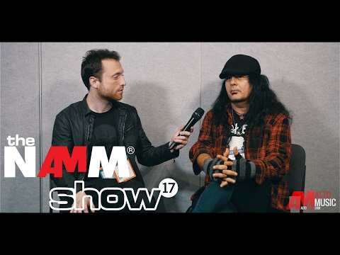 Jeff Duncan of Armored Saint at NAMM 2017 - Alto Music