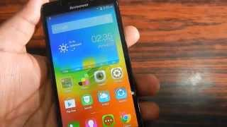 How to take screenshot on Lenovo A5000