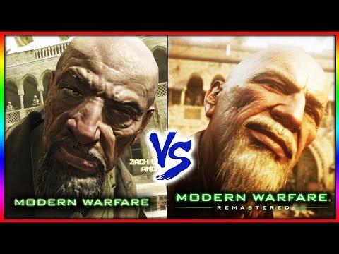 MODERN WARFARE REMASTERED  VS ORIGINAL MODERN WARFARE (PC)