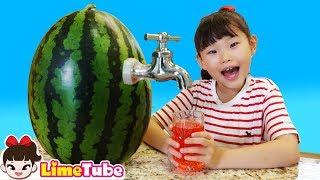 라임의 아이스크림 만들기 인기동요 | nursery rhyme تعليم الأطفال بأغنية الأطفال Lagu Anak anak Canciones Infantiles