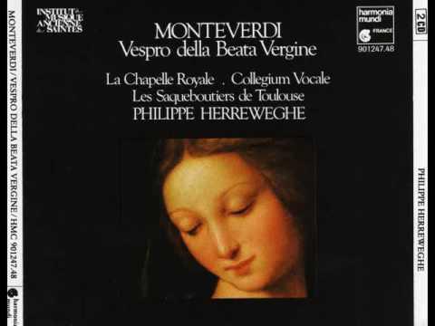 Claudio Monteverdi   Vespro della Beata Vergine