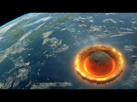 Large Asteroid Impact Simulation