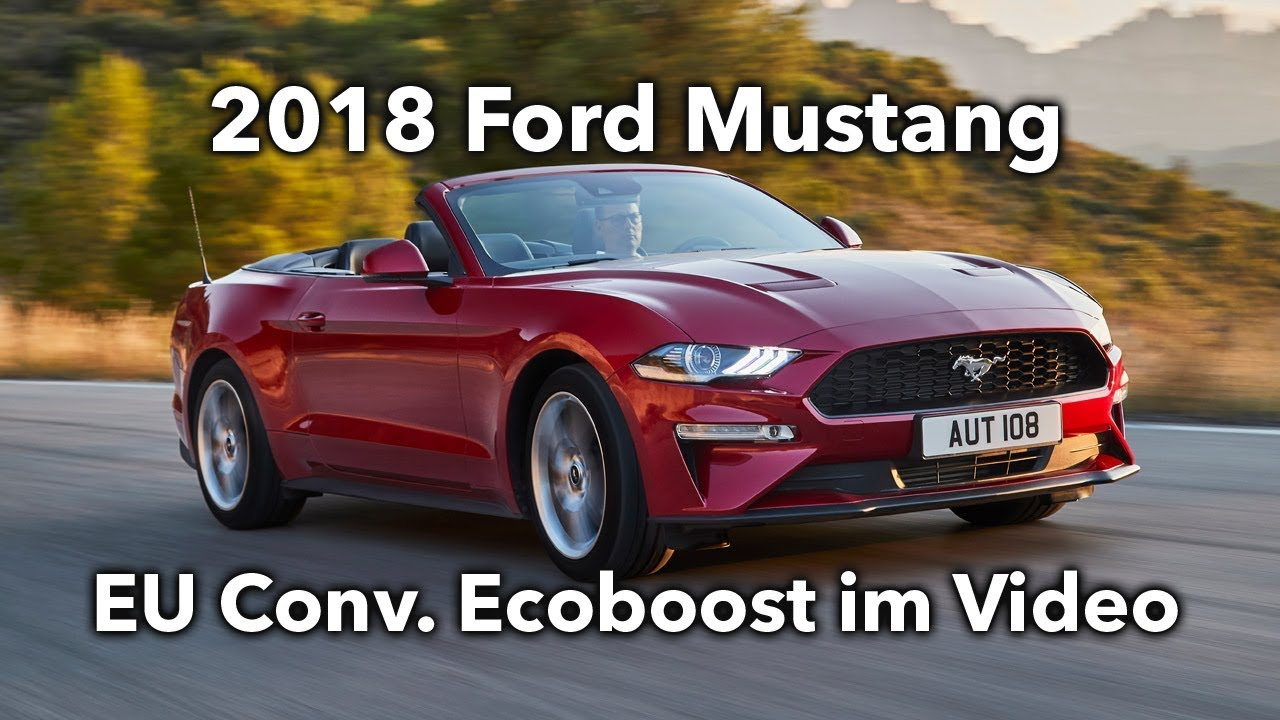 2018 Drehmoment Ford Mustang