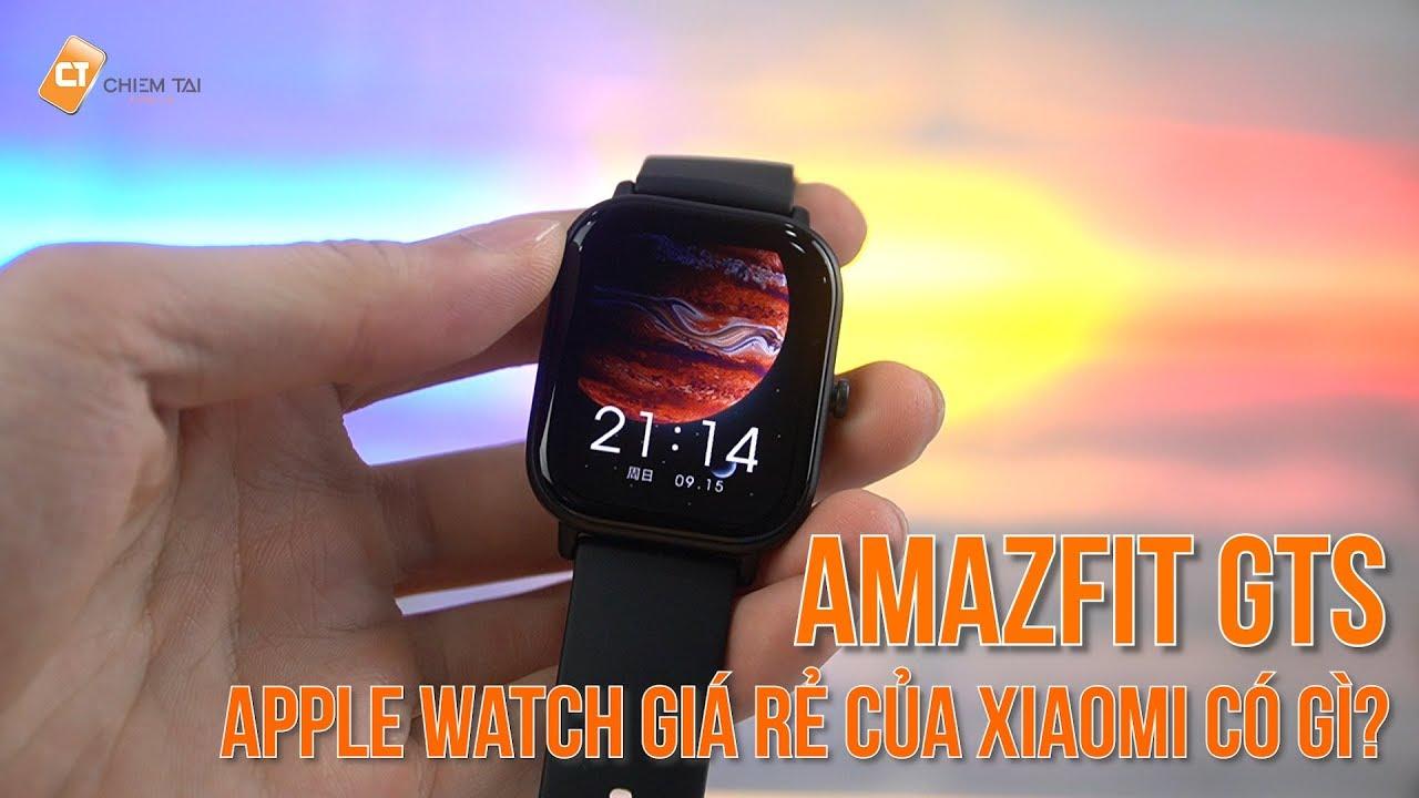 """Mở Hộp Amazfit GTS – Đầu Tiên Ở Việt Nam """" Apple Watch """" Giá Rẻ Của Xiaomi Có Gì?"""