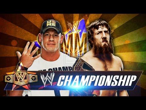 مصارعه حرة جون سينا 2014 - مصارعه دبليو دبيلو إي 2014 - John Cena And Daniel Bryan