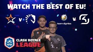 CRL Europe: Allegiance v. Team Liquid | Team Dignitas v. SK Gaming!