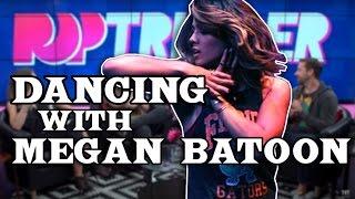 Megan Batoon Teaches Us How To DANCE!