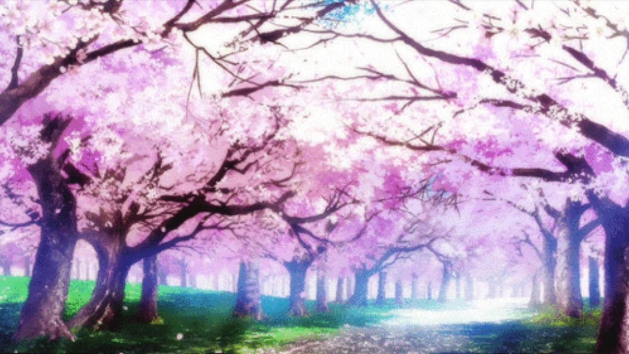 Аниме гиф дерево
