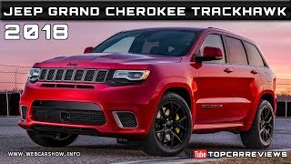 2018 Jeep Grand Cherokee Trackhawk Review Rendered Price Specs Release Date