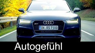 Audi RS7 Sportback Performance 2016 Videos