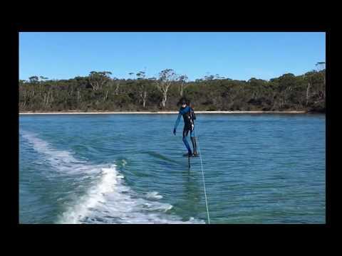 Riding The DIY Hydrofoil