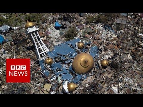 Indonesia tsunami devastation