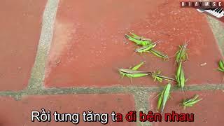 🌏Karaoke Beat 🍋Tìm Bạn Thân 🍏Hai Nam Music🍍Nhạc trẻ em giống Xuan Mai