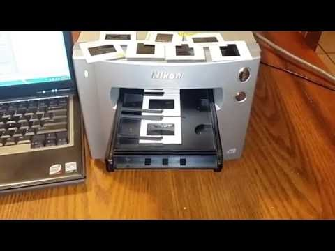 NIKON COOLSCAN 9000 ED Slide Film Scanner + NIKON FH-835M