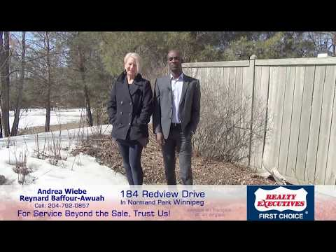 184 Redview Drive in Normand Park Winnipeg