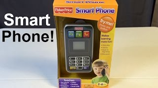 Fisher Price Smart Phone with Ringtones, Camera, Games & More! by Kid Vids!