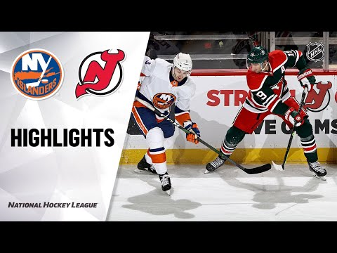 Islanders @ Devils 3/2/21 | NHL Highlights