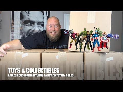 I Paid $121 for $1,702 of MYSTERY TOYS & Collectibles + Amazon Customer Returns Pallet Unboxing