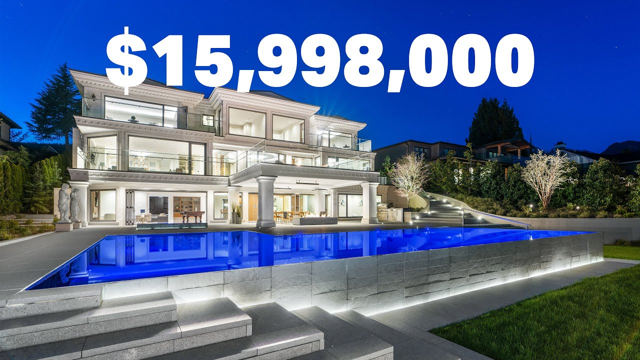 A look inside this $15,998,000 West Vancouver Mansion // Luxury Real Estate Video