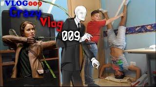 Crazy Vlog 009 #4 -FATE LA SCENA DI SLENDERMAN & HUNGER GAMES-
