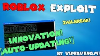 New Exploit Roblox (Innovation) Credits Go to Viper Venom :D
