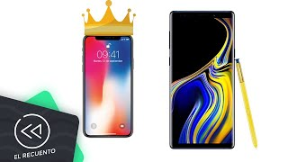 iPhone X vence al Galaxy Note 9 | El recuento