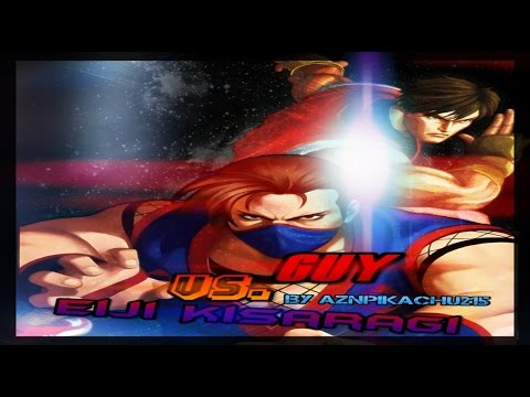 Mugen - King of Fighters vs. Street Fighter - Guy (POTS) vs. Eiji Kisaragi (Ahuron) - 凱 vs. 如月影二 - 동영상