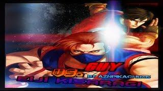 Mugen - King of Fighters vs. Street Fighter - Guy (POTS) vs. Eiji Kisaragi (Ahuron) - 凱 vs. 如月影二