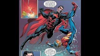 Dark Superman vs The Flash and Green Lantern