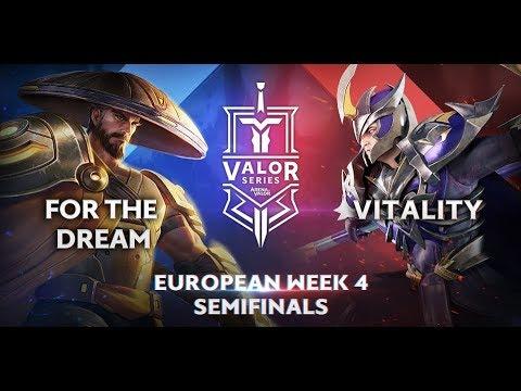 For The Dream vs. Vitality   Valor Series [Europe] Week 4 [Semifinal]