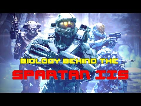Halo Lore | Biology Behind The ONI Spartan II's | Augmentations, History, Program, Training, Lore
