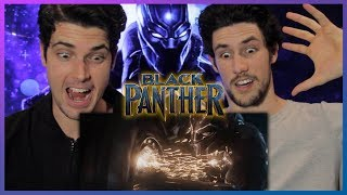 BLACK PANTHER Trailer Reaction & Review streaming