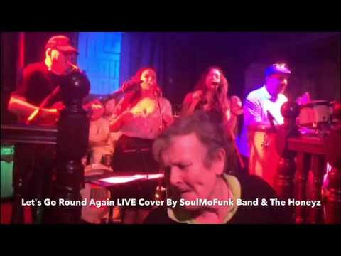 SoulMoFunk Band performing Let's Go Round Again LIVE Cover in Northamptonshire