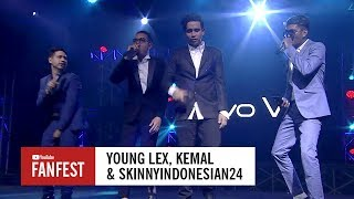 Young Lex, SkinnyIndonesian24 & Kemal @ YouTube FanFest Indonesia 2017