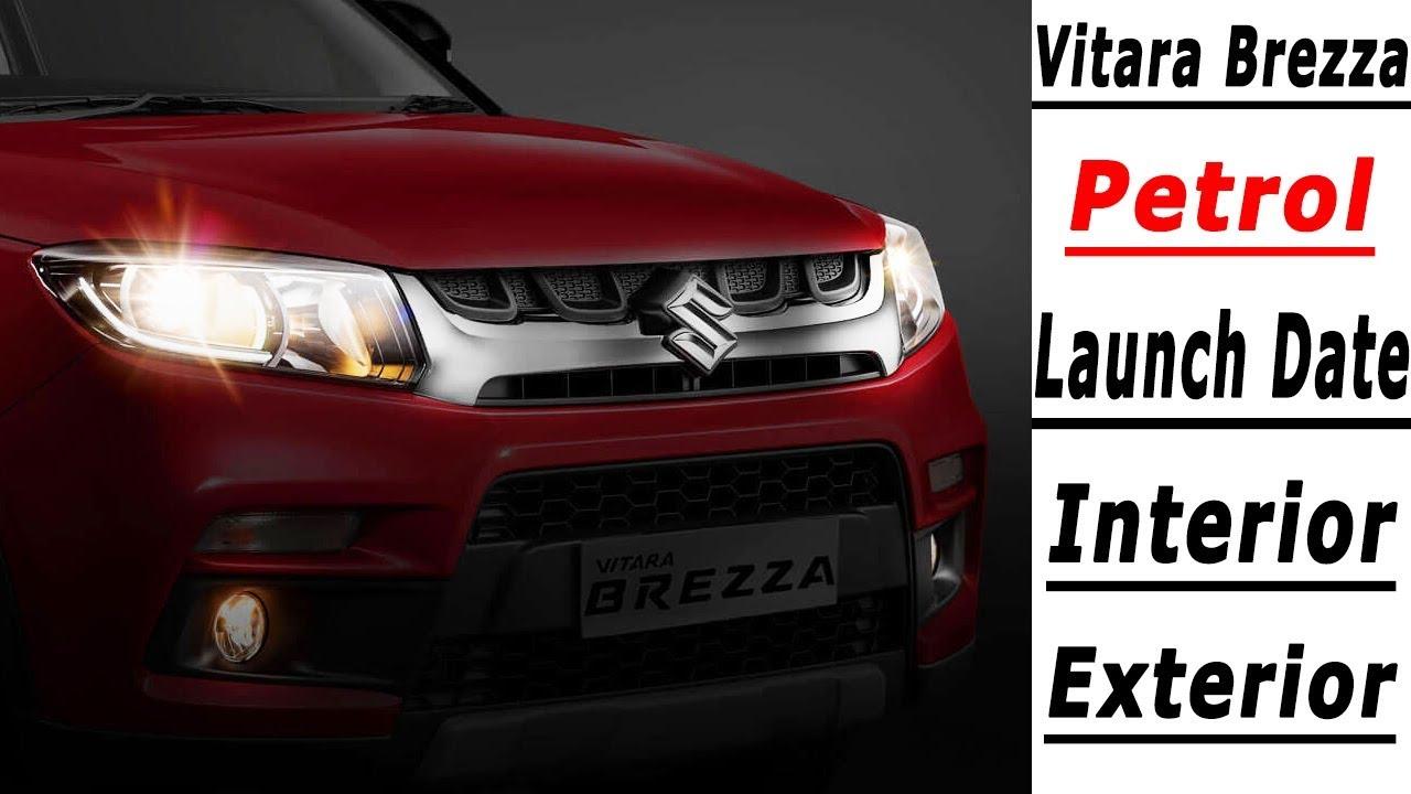 Maruti Suzuki Vitara Brezza Petrol Price Launch Date Mileage