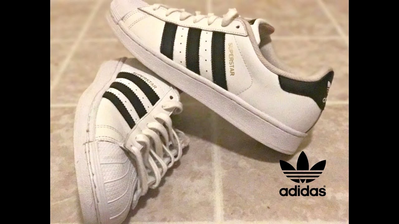 3ae6361af48f YouTube e3be1 562af  sale retailer HOW TO MAKE ADIDAS SUPERSTARS LOOK BRAND  NEW e49a0 667bb ...