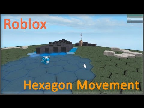 Roblox Hexagon Grid Movement Youtube - pictures of roblox characters with grid