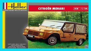 Let's Build A Thing: Heller Citroën Mehari 1:24