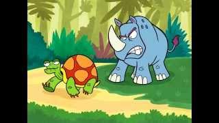 Nunca te burles de un Rinoceronte