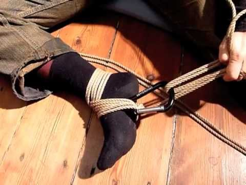 Already discussed foot bondage knots