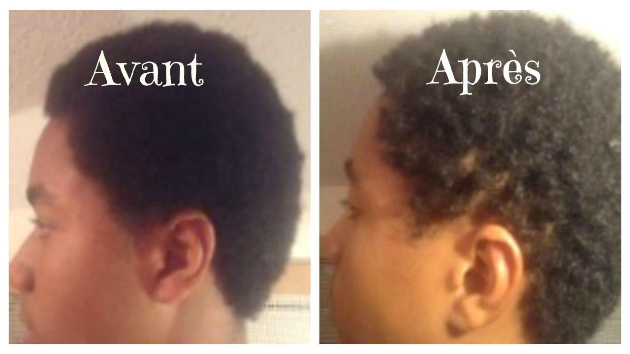 Gel pour les cheveux naturels