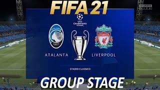 FIFA 21 Atalanta vs Liverpool | Champions League 2020/21