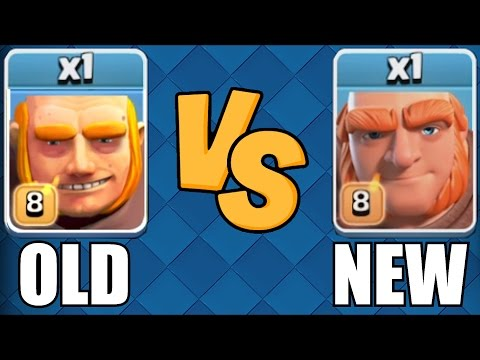 Thumbnail: THIS LOOKS STUPID🔸NEW AND OLD GIANT COMP🔸Clash Of Clans